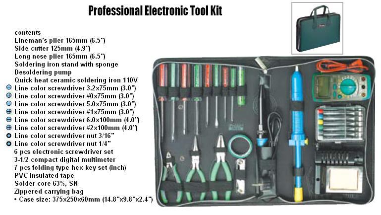 Electronic Tool Kits : Tools tool kits