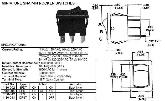 dpst rocker switch wiring diagram smartdraw diagrams toggle switch wiring