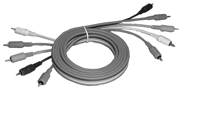 composite - component and s-video patch cables
