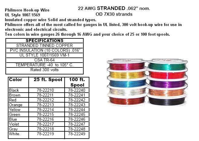 Wire 18 26 Awg 25ft Amp 100ft Mini Spools And Magnetic Wire