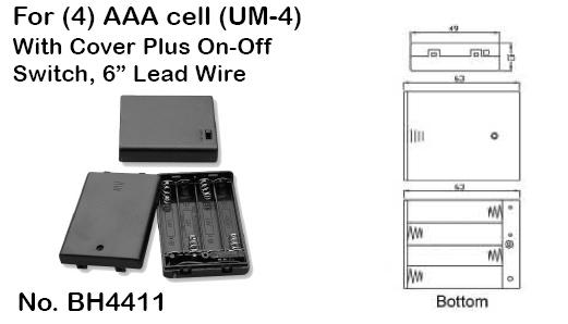 [DIAGRAM_5FD]  23500-23 | Aaa Battery Box Wiring Diagram 4 |  | Cables & Connectors