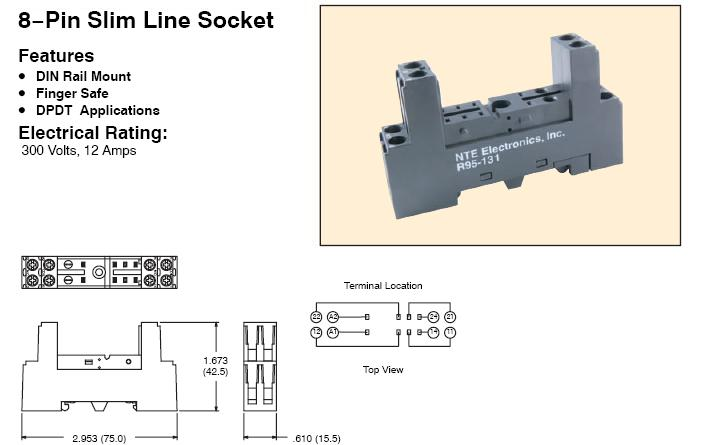 r95131 relays (ac dc) by nte 140001  at bayanpartner.co