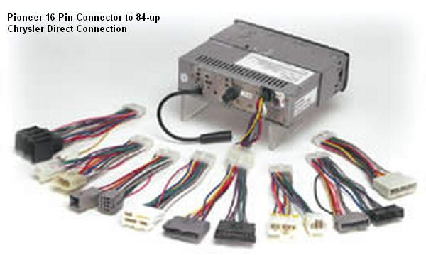 car audio accessories and adapters 06300 06 4 Pin Connector Wiring Harness
