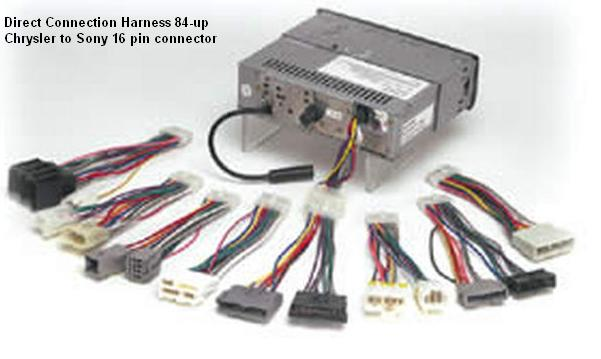 scosmcr01s car audio accessories and adapters 06300 06 sony car audio wiring harness at mifinder.co